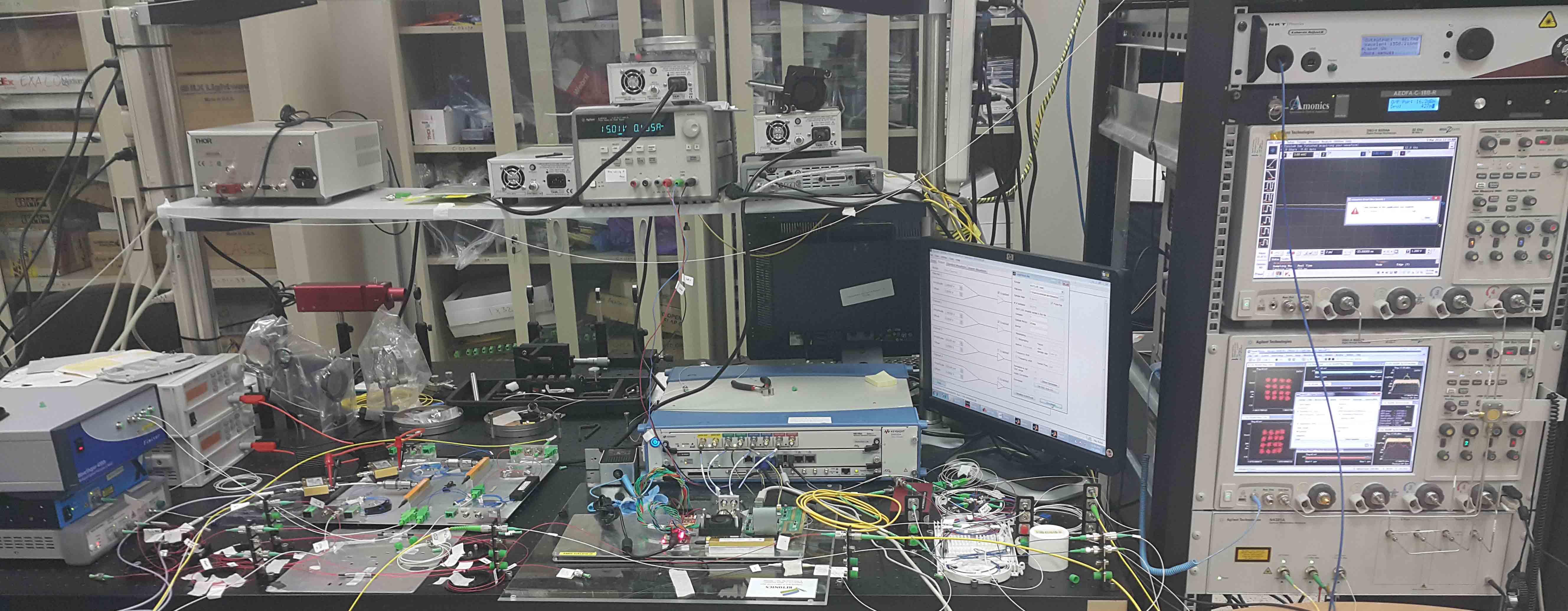 Lightwave Research Activities - .